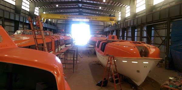 5 year lifeboat inspection